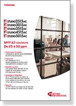 Brochure e-STUDIO 2515AC à 5015AC