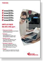 Brochure e-STUDIO 2518A à 5018A