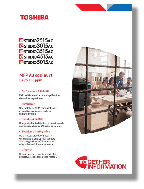 Brochure e-STUDIO 2515A