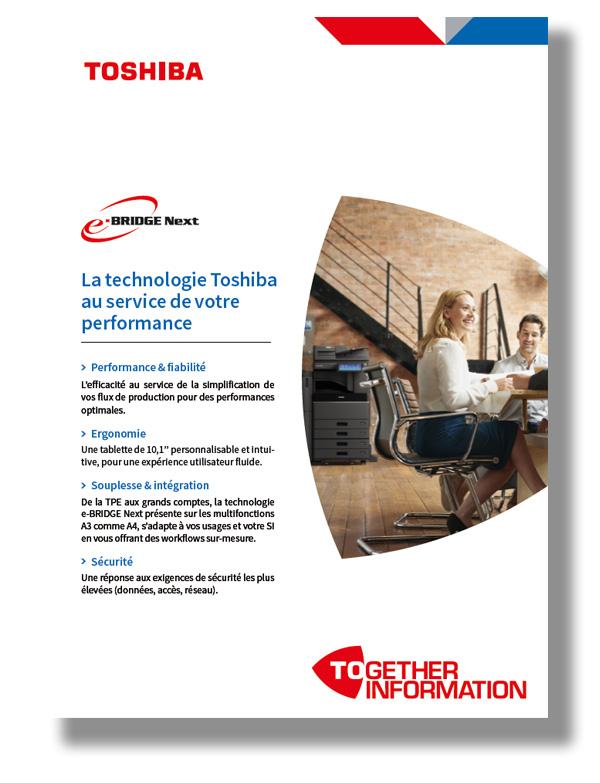 La technologie Toshiba au service de la performance de votre entreprise